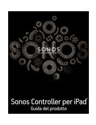 Sonos Controller per iPad - Almando