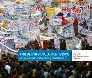 FRIEDLICHE REVOLUTION 1989/90 - Cre-aktiv.com