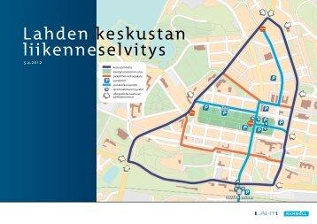 Lahden keskustan liikenneselvitys - Lahti
