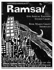 September 2009 - Ramsay Community Association