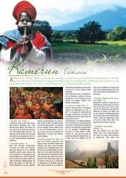 Kamerun Erlebnisreise