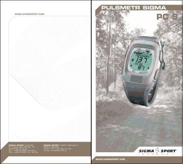 sigma sport bc 800 manual