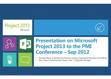 Microsoft Lunch Presentation