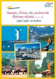 Kanada, Asien, die polnische Ostsee-Küste u. v. m. 2011/2012 erleben