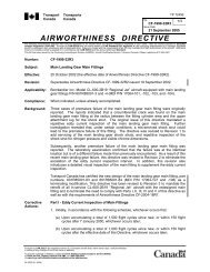 AIRWORTHINESS DIRECTIVE