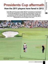 Presidents Cup aftermath - Golfplus Media