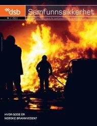 Samfunnssikkerhet nr. 4/2011 - Direktoratet for samfunnssikkerhet ...