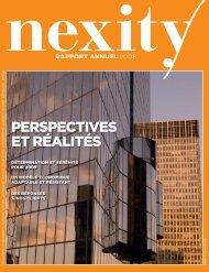 Téléchargez le Rapport annuel 2008 - Nexity