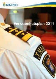 Verksamhetsplan 2011 - Tullverket