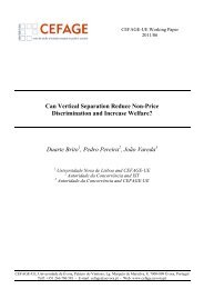 Can Vertical Separation Reduce Non-Price Discrimination and ...