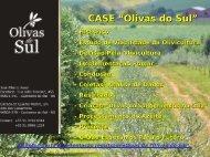 Estudo de Viabilidade da Olivicultura - Apta