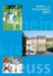 Kultur- + Freizeitführer 2011