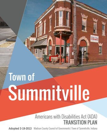 Town of Summitville - The Madison County Council of Governments