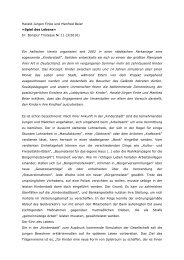 Harald-Jürgen Finke und Manfred Beier »Spiel ... - materialien-kritik