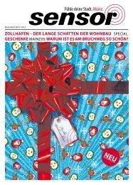 ZollhafEN - DEr laNgE SchattEN DEr WohNbaU ... - sensor Magazin