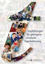Empfehlungen für gelungene schulische ... - elsa - Schule.at