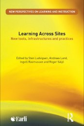 Learning Across Sites: New tools, infrastructures and practices - Earli