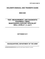 SOLDIER'S MANUAL OF COMMON TASKS Skill Level 1