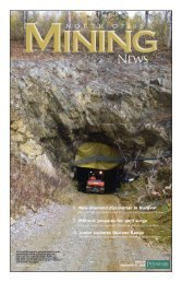north of 60 mining - for Petroleum News