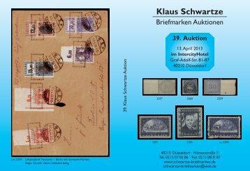 Klaus Schwartze - Schwartze Briefmarken
