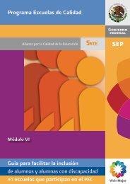 Guía para facilitar la inclusión - Secretaria de Educación Pública ...