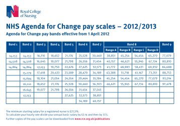 NHS Agenda For Change Pay Scales EUR 2012 2013 PDF 1185