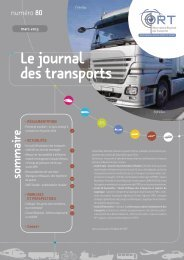 journal des transports n°80 - ORT PACA