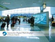 Interactive Digital Wall Displays