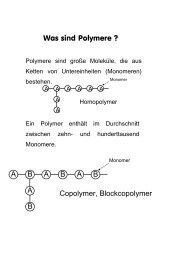 Was sind Polymere ? - CePoL/MC NAWI Graz