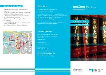 Info-Flyer - ZSB