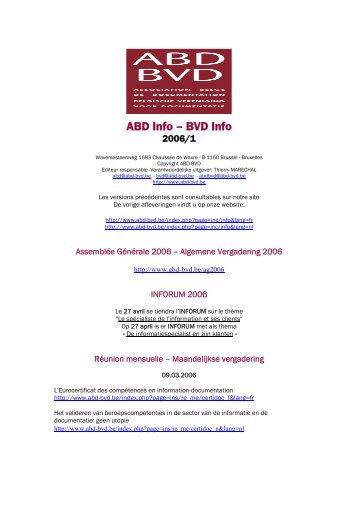 ABD Info – BVD Info - ABD-BVD