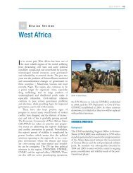 West Africa - Center on International Cooperation