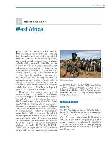 West Africa - Center on International Cooperation