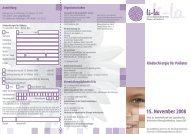 15. November 2008 Kinderchirurgie für Pädiater