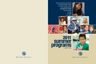2011 summer programs - Ranney School