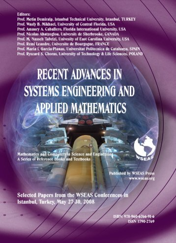 recent-advances-in-systems-engineering-and-applied ... - WSEAS