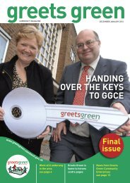 December/January - The Greets Green Partnership Legacy Website