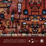 Essential skills for effective partnering Spring 2013.indd