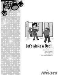 Let's Make A Deal! - Mitacs