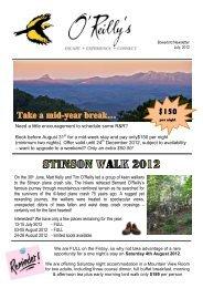 Newsletter_ July 2012 - O'Reilly's Rainforest Retreat