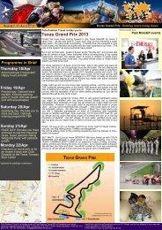 Texas Grand Prix 2013 - Pole Position Travel