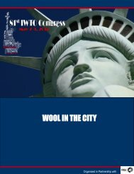 WOOL IN THE CITY - IWTO