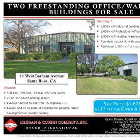 two freestanding office/warehouse buildings for sale - Keegan ...