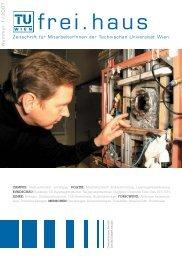 Zeitschrift für Mitarbeiterinnen der Technischen Universität Wien