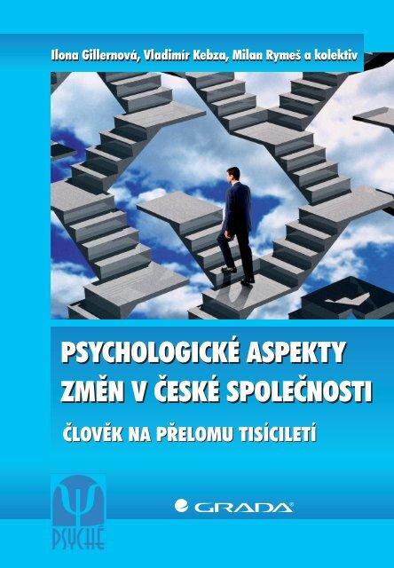 psychologické aspekty změn v české společnosti ... - eReading