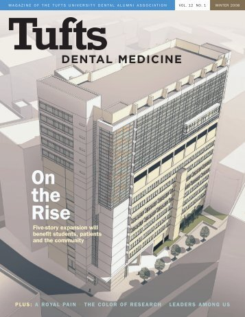 On the Rise - Tufts University School of Dental Medicine