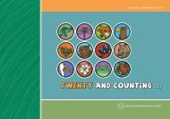 annual report 2009 - The Regional Environmental Center for Central ...