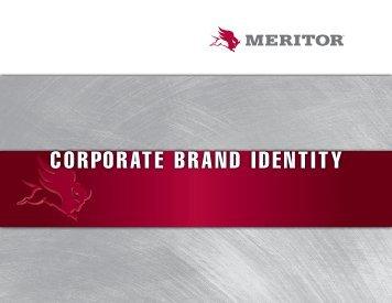 CORPORATE BRAND IDENTITY - Meritor