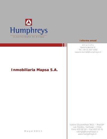 Inmobiliaria Mapsa S.A. - Humphreys