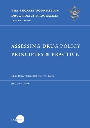 Assessing Drug Policy Principles & Practice - System Error